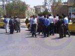 اعتصاب عمومی تاکسی داران شهرستان دهگلان